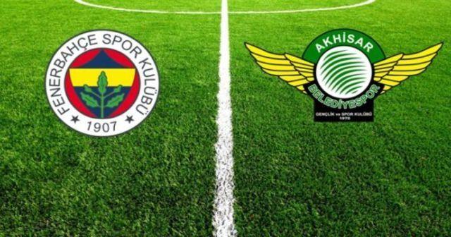 Fenerbahçe Akhisar Maçı Canlı İzle! FB Akhisar maçı canlı skor kaç kaç? BEİNSPORTS CANLI İZLE