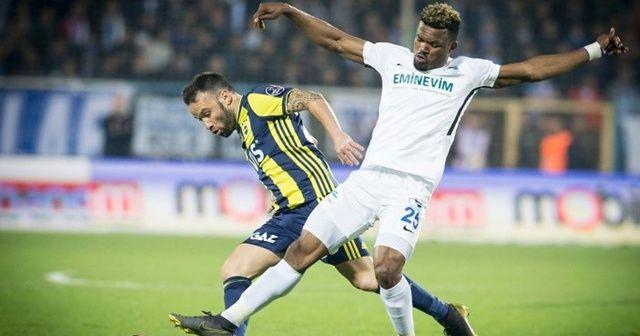 Fenerbahçe galibiyeti tek golle aldı, BB Erzurumspor'u ateşe attı