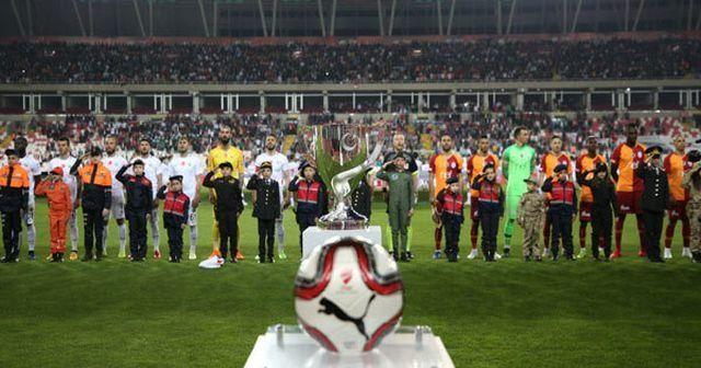 Galatasaray'ın Süper Kupa'daki rakibi belli oldu