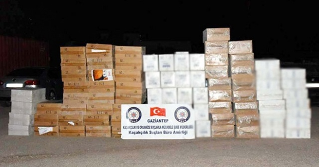 Gaziantep'te kaçakçılara darbe