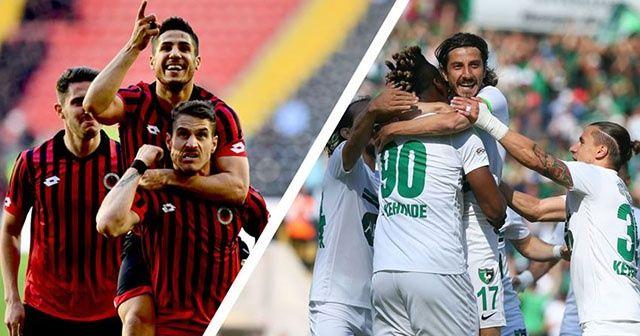 Gençlerbirliği ve Denizlispor, Süper Lig'e yükseldi