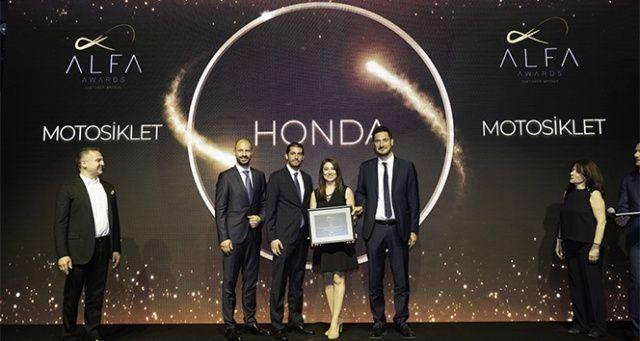 Honda Motosiklet Türkiye'ye ödül