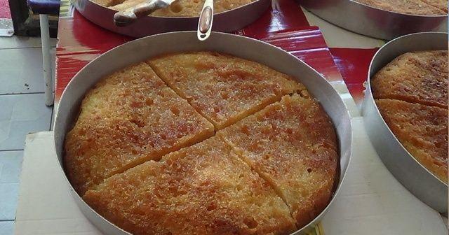 İçinde yağ olmayan şerbetli tatlı ekmek kadayıfı