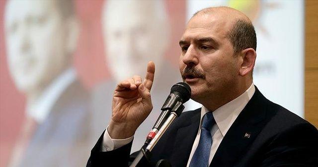 İçişleri Bakanı Soylu: 'Bir cümleye ait yasaklama söz konusu değildir'