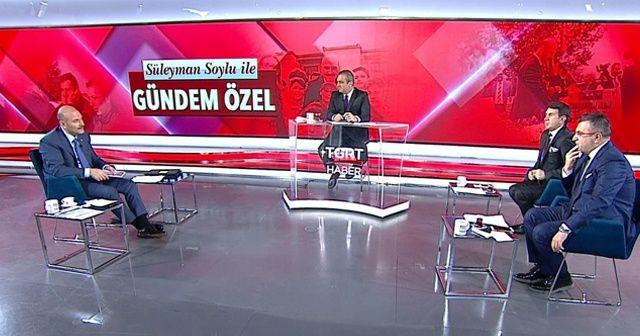 İçişleri Bakanı Süleyman Soylu'dan Gündem Özel'de önemli açıklamalar