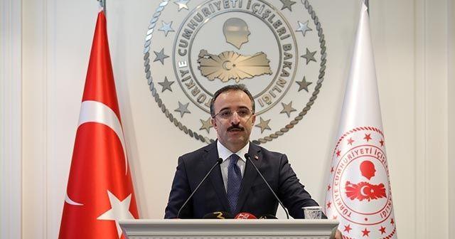 İçişleri Bakanlığı'ndan Kılıçdaroğlu'na saldırı ile ilgili açıklama