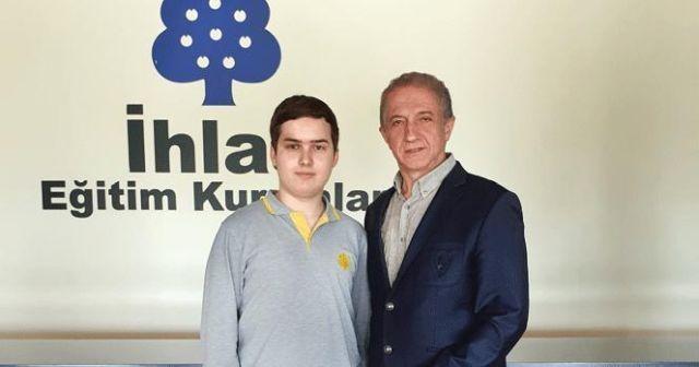 İhlas Koleji Öğrencisi Avrupa Gençlik Parlamentosu'nda Türkiye'yi temsil edecek