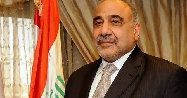 Irak Başbakanı Abdülmehdi'den Türkiye ziyareti öncesi açıklama