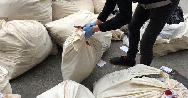İstanbul'da 10 ton uyuşturucu fabrika kazanında imha edildi