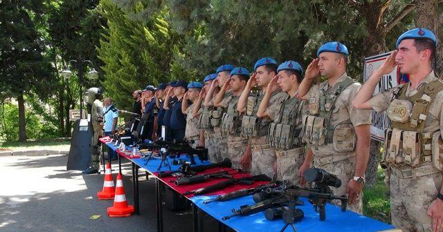Kilis'te engelliler, 1 gün için asker oldu