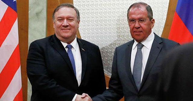 Lavrov ve Pompeo bir araya geldi