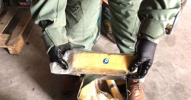 Madeni yağ tenekelerinde 163 kilo eroin ele geçirildi