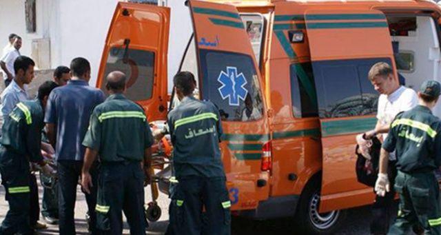 Mısır'da polisleri taşıyan araç kaza yaptı: 9 ölü