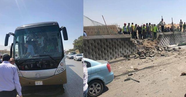 Mısır'da otobüste patlama: 16 yaralı