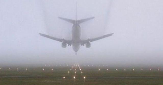 Ordu-Giresun Havalimanı'nda ulaşıma sis engeli