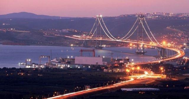 Osmangazi Köprüsü'nün 15 aylık hasılatı; 2 milyar TL