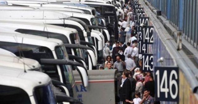 Otobüs firmalarında bayram yoğunluğu