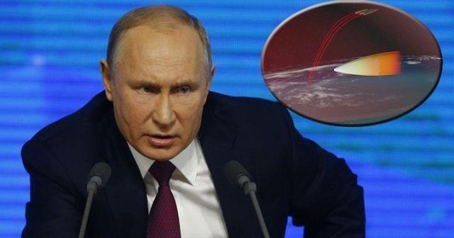 Putin: Hipersonik silahlara karşı savunma sistemleri önce bizde olmalı