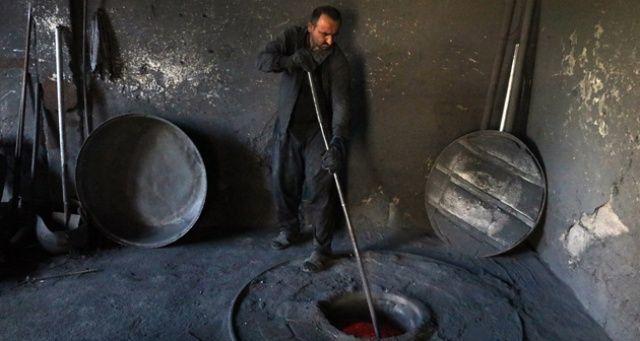 Ramazan'da bin derecede döküm işi