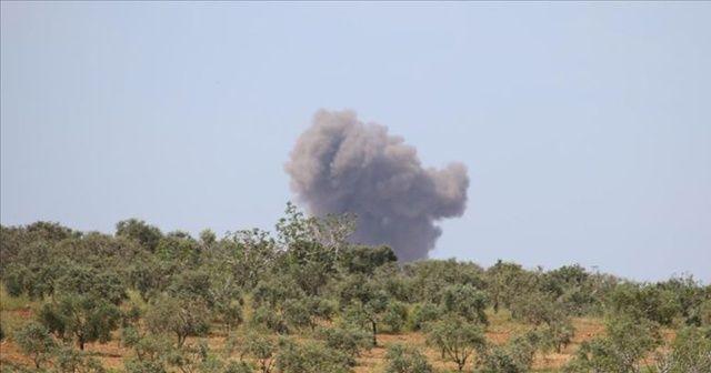 Rejim güçleri 'İdlib Gerginliği Azaltma Bölgesi'ne geniş çaplı saldırılarını sürdürüyor