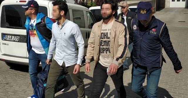 Samsun'da FETÖ'nün asker yapılanmasında 6 zanlı adliyede