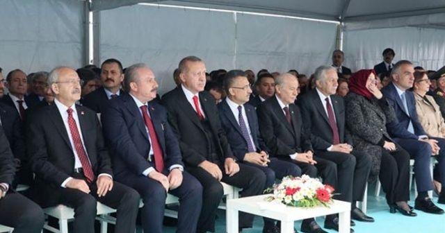 Samsun'da tarihi gün! Devletin zirvesi orada