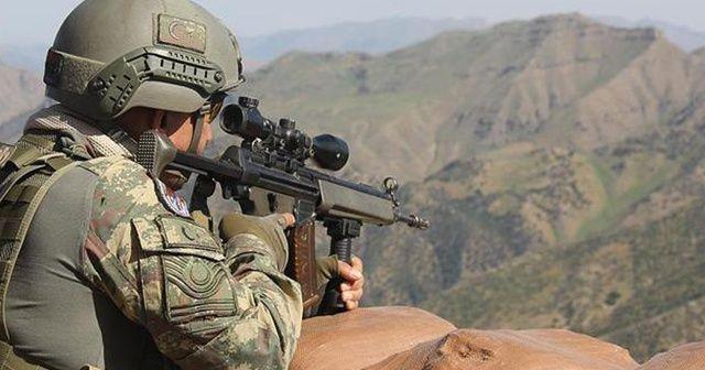 Şırnak'ta 2 terörist silahlarıyla birlikte etkisiz hale getirildi
