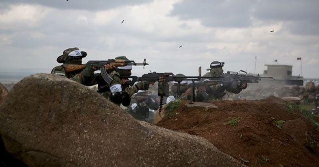 Suriyeli muhaliflerden Esad rejimine operasyon