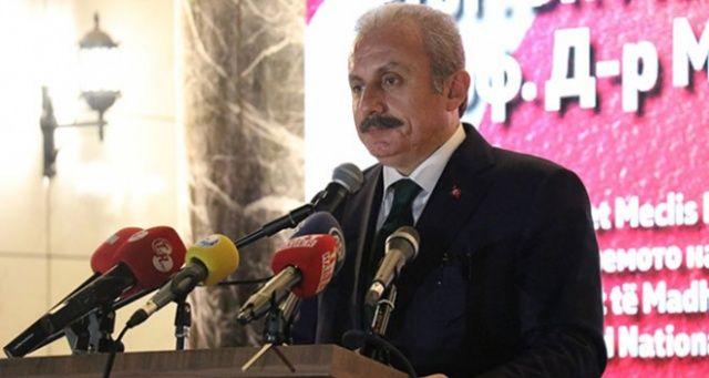 TBMM Başkanı Şentop Kuzey Makedonya'da