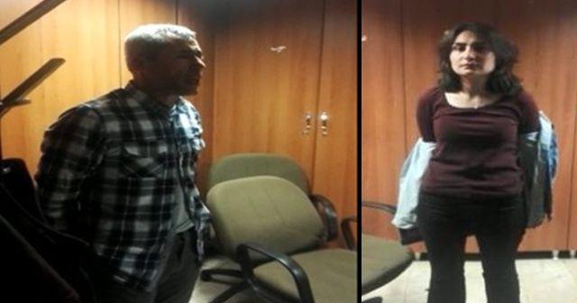 TBMM'ye girmeye çalışan DHKP/C terör örgütü ile irtibatlı iki şahıs yakalandı