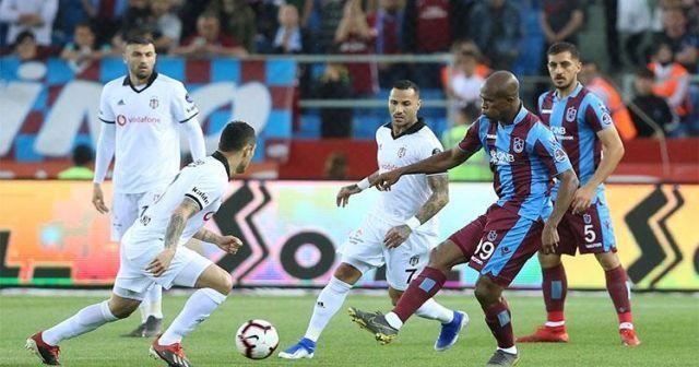Trabzonspor kendi evinde Beşiktaş'ı 2-1 mağlup etti