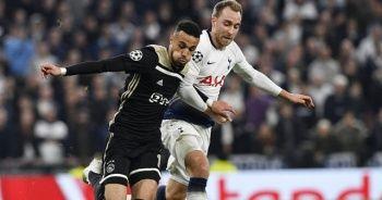 Ajax Londra'da avantajı kaptı