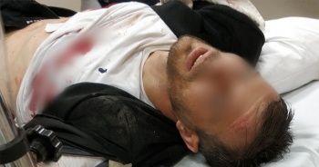 Çay ocağında otururken silahlı saldırıya uğradı