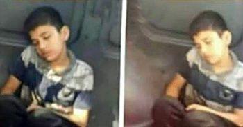 Çocuğu üzeri kirli diye minibüs koltuğuna oturtmadılar
