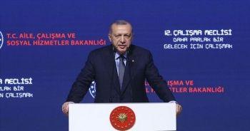 Cumhurbaşkanı Erdoğan: Dimdik ayakta durmayı başardık