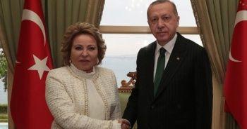 Cumhurbaşkanı Erdoğan, Türk Konseyi Genel Sekreteri Amreyev'i kabul etti
