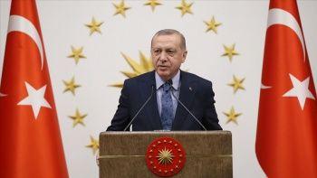 Cumhurbaşkanı Erdoğan, yabancı konukları onuruna yemek veriyor