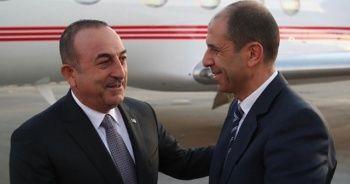 Dışişleri Bakanı Mevlüt Çavuşoğlu KKTC'de