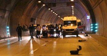 Dolmabahçe Tüneli'nde feci motosiklet kazası: 1 ölü