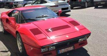Ferrari test sürüşünde çalındı