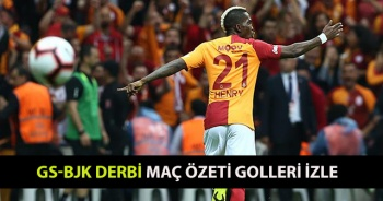 Galatasaray Beşiktaş Derbi MAÇI GENİŞ ÖZETİ GOLLERİ İZLE! Galatasaray Beşiktaş maçı Kaç Kaç Bitti? GS BJK maç özeti video