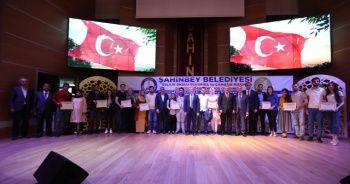 Gaziantep'te 186 çift daha evlilik okulundan mezun oldu