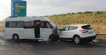 Gaziantep'te zincirleme kaza: 11 yaralı