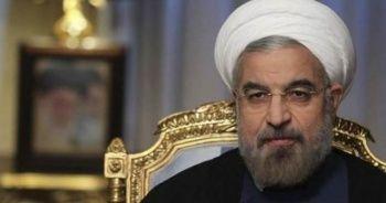 """İran Cumhurbaşkanı Ruhani: """"Zorbalık karşısında asla teslim olmayacağız"""""""