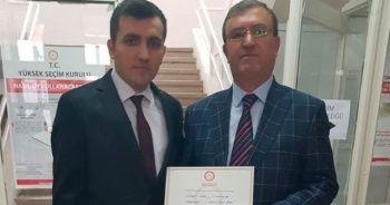 İYİ Parti'li belediye başkanının mazbatası iptal edildi