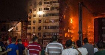 Kahire'de büyük yangın: 51 kişi yaralandı
