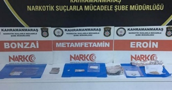 Kahramanmaraş'ta uyuşturucu operasyonu: 2 gözaltı