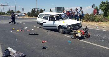 Manisa'da baba ile kızını kaza ayırdı