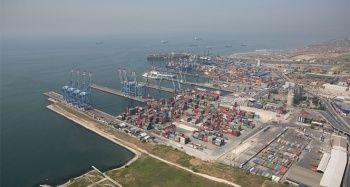 Marmara Bölgesi'nde en fazla ithalat yük elleçleyen limanı Kumport oldu