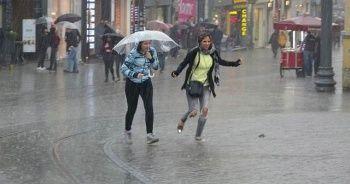 Meteoroloji İstanbul için uyardı! Sağanak yağmurlar geliyor